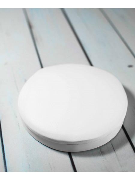 Подставка маникюрная под локоть круг (белая)