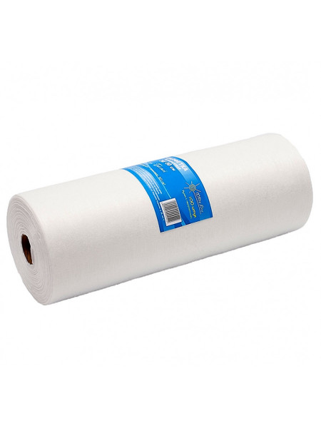 Салфетка одноразовая 20*20 спанлейс белый White line 100шт. рол
