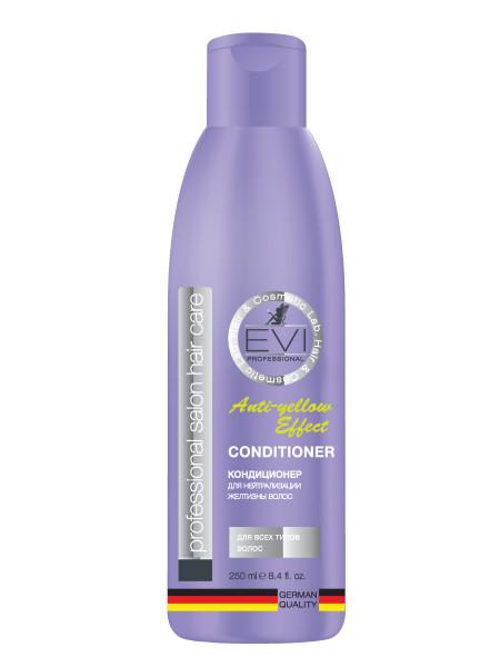 «EVI» Professional Кондиционер для волос «Серебристый» для нейтрализации желтизны волос. 250 мл