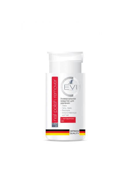 EVI Professional Универсальное средство для снятия всех видов гель-лака, биогеля 150 мл (помпа)