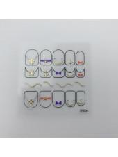 3D наклейки для дизайна ногтей №66