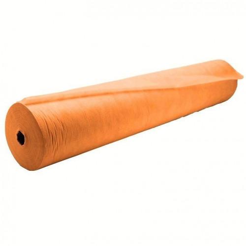 Простыня одноразовая White line 70*200 SS 17 оранжевый 100шт. рол