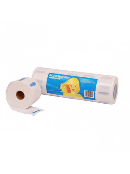Воротничок бумажный 100шт/рол (уп.5рол) White line