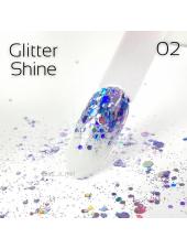 Глиттер для ногтей Shine Art-A 02 1гр